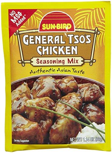 Sunbird General Tso`s Chicken Seasoning Mix, 1.14 oz