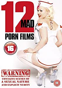 12 Mad Porn Films (12 film, 4 DVD set) [Reino Unido]