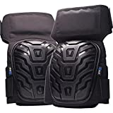RNF Professional Knee Pads with Comfortable Gel Cushion and Padded Heavy Duty Foam, Adjustable Neoprene Velcro Straps best for Work, Construction, Flooring, Tile and Concrete