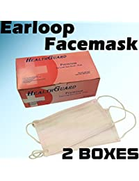 CheckOut 100 PC (2 BX) 3-Ply Pink Commercial Dental Surgical Medical Disposable Earloop Face Masks | FDA Registered & Approved! opportunity