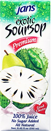 Jans Soursop Exotic Tropical Juice, 8.45-Ounce (Pack of 24)