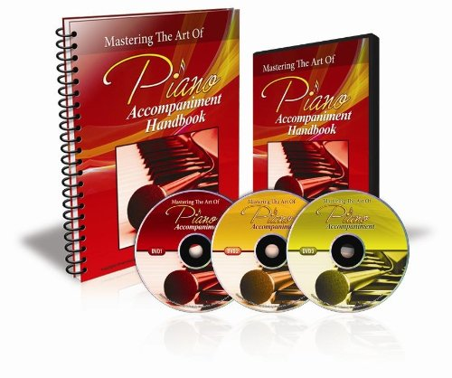 (Piano Lessons - Mastering Piano Accompaniment (3 DVDs, 1 Book))