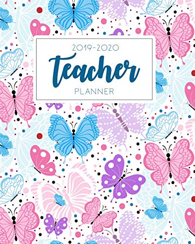 Teacher Planner 2019-2020: Weekly and Monthly Teacher Planner, Time Management for Teachers, Academic Year Lesson Plan and Record Book (July 2019 - July 2020) (teacher planner book) Mary T. M.