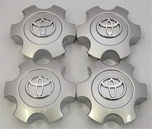 gvfdsghdgh Set of 4 New Replacement 2003 2004 2005 2006 2007 Tundra Sequoia Silver Wheel Center Hub Caps 56069440 US Fast Shipment