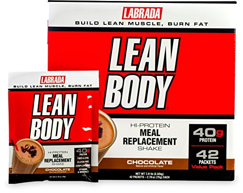 (Labrada Nutrition Lean Body, Chocolate, 79-Gram Packets (Pack of 42))