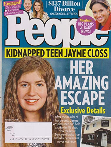 People January 28, 2019 Jayme Closs - Her Amazing Escape