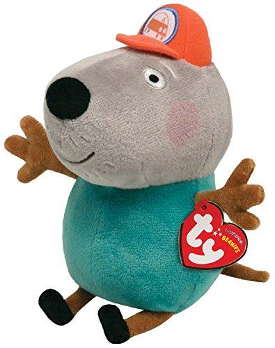 TY Beanie Baby - GRANDAD DOG (UK Exclusive - Peppa (Dog Infant Teddy Bears)