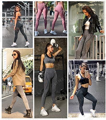 SLIMBELLE Mallas Push up Mujer Leggings Deportivos 23