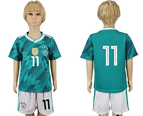 Zububo SHIRT ボーイズ B07DGG83WC L = (10-12) Years Old グリーン グリーン L = (10-12) Years Old