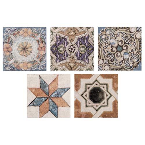 SomerTile FPM3ART Leon Ceramic Floor and Wall Trim Tile, 2.75