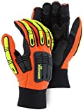 Knucklehead X10 Synthetic Leather Gloves 21242HO (1 Pair) (Large)