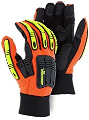 Knucklehead X10 Synthetic Leather Gloves...