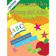 Practicando los Meses del Año En Español Video Educativo de 4 Horas para Niños