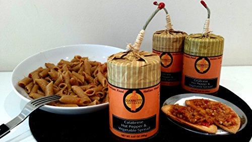Hot Vegetable Spread (Calabrese Hot Pepper & Vegetable Spread)