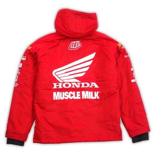 Troy Lee Designs Team Honda Muscle Milk Jacket Red (Medium) at Amazon Men s  Clothing store  Powersports Protective Jackets dcee7420f9ee