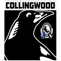 AFL AFL625AD Collingwood Throw Rug, Team Logo