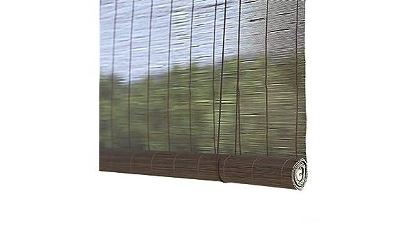 Estor Enrollable Wenzhe Enrollable de bambú para Ventana, para Proteger el Sol, tamaño Personalizable, 50%: Amazon.es: Hogar