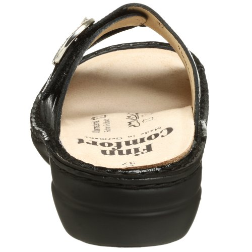 Comfort Black Women's Sandal Patent Mumbai Finn T7HnzYpWqT