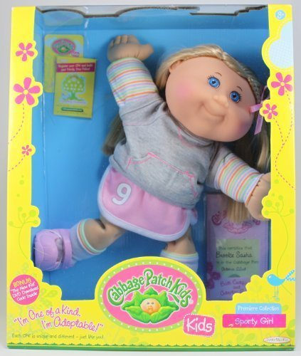 Cabbage Patch Kids Premiere Collection - Sporty Girl (Sporty Girl Collection)