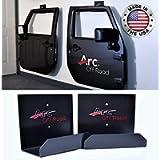 The Original, Arc Off Road, Window Channel, Door Hanger Bracket, 2 Door (2 hangers), Fits Jeep Wrangler CJ, YJ, TJ, JK…