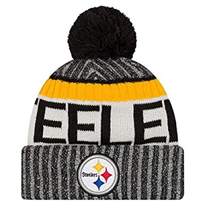Pittsburgh Steelers New Era 2017 On-Field Sport Knit Beanie Hat / Cap
