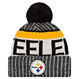 Pittsburgh Steelers New Era 2017 On-Field Sport Knit Beanie Hat / Cap