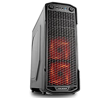 COUGAR Gaming MX310 Midi-Tower Negro carcasa de ordenador ...