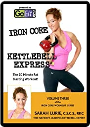 GoFit Kettlebells Iron Core Express DVD Volume 3
