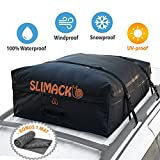 Rooftop Cargo Carrier Bag Waterproof Luggage Carrier For Cars Vans and SUVs Roof Top Storage Soft Cargo Bag Luggage Travel Bag With Protective Anti-Slip Mat and Straps 13.5 Cubic Feet
