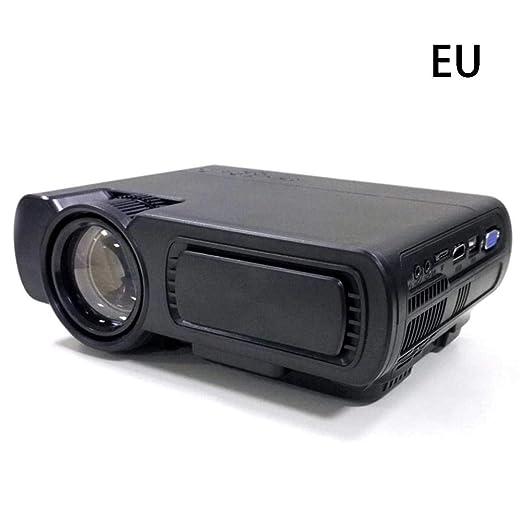 su-xuri Beamer, portátil Nuevo Mini proyector LED portátil 1080P ...
