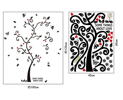 Black Family Photo Tree Removable Home Decor Wall Stickers Room Vinyl Decals