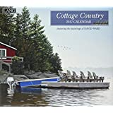 Lang 2017 Cottage Country Wall Calendar, 13.375x24-Inch