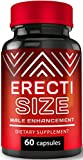 ErectiSize - Ultimate Male Enhancement Pills | Erection Pills for Size | Boosts Performance Guaranteed | Muira Puama, Tribulus, Maca Root | Testosterone Enhancer