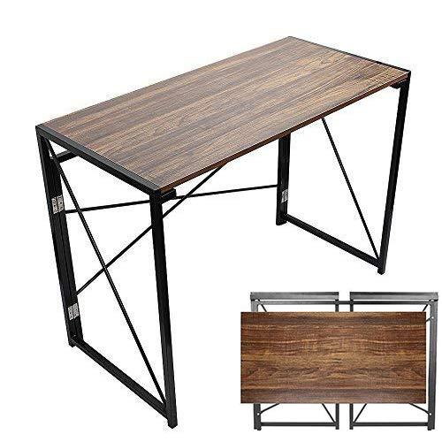 Folding Computer Desk, 39'' No Assembly ...