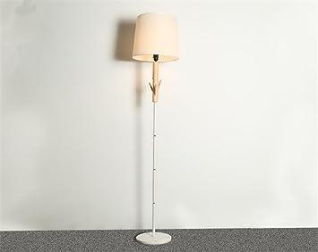 H&M Lámparas de pie Tela de lámpara de Madera Natural de la ...