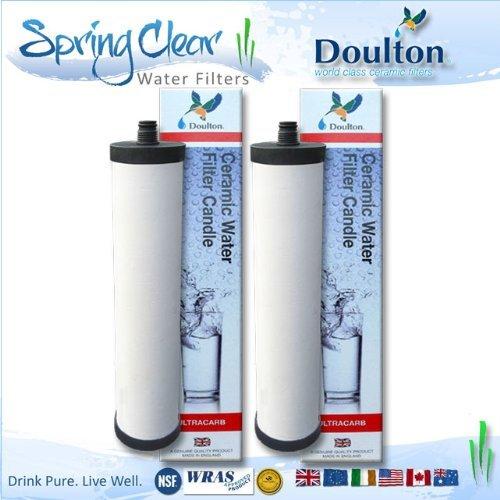 2 Pack - Franke Triflow Compatible Filter Cartridges By Doulton M15 Ultracarb (NO Import Duty or Taxes to pay on this product) by Royal Doulton