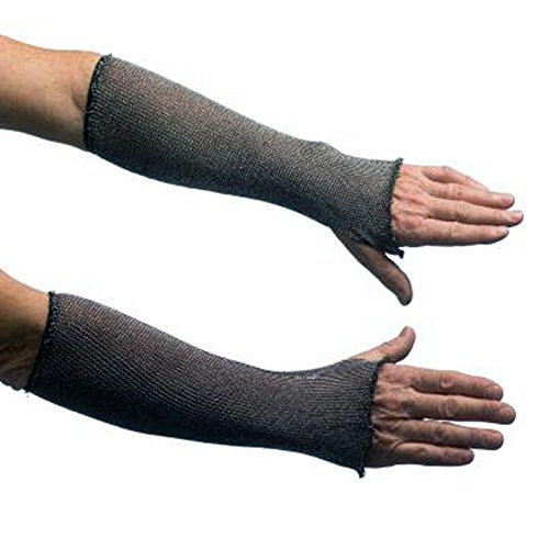 [Men's Chain Mail Costume Gloves (Silver)] (Mail Man Costumes)