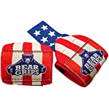 """Bear Grips II-band wrist wraps, wrist support for wods, weight lifting, wrist brace (Colors: american flag, black, green, neon, pink, Sizes: 12"""", 18"""", 24"""", Pairs: two wrist straps per pack)"""