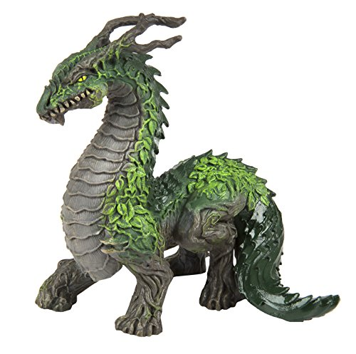 Safari Ltd Fantasy Collection – Jungle Dragon – Realistic Hand Painted Toy Figurine Model - Quality Construction from Safe and BPA Free Materials - For Ages 3 and (Hand Painted Dragon)