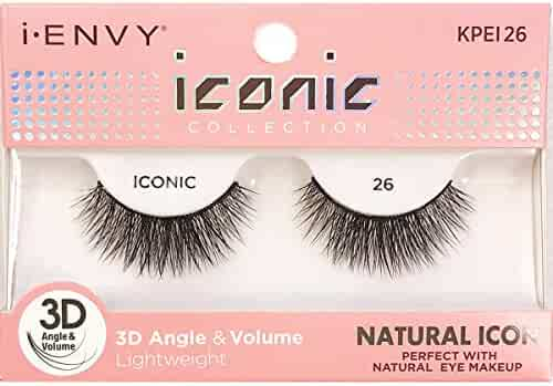 986c6f9eacb i Envy by Kiss iconic 3D Angle & Volume Lashes NATURAL ICON 26 (2 Pack