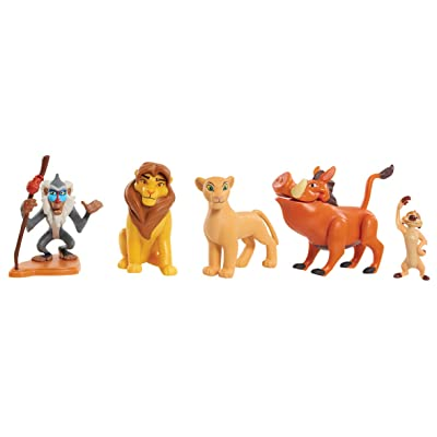 JP Lion Guard LNN09000 The Lion King Collector Figure Set, Nylon/A: Toys & Games