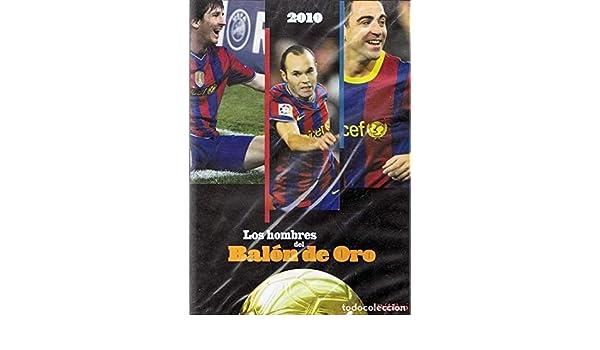 Los hombres del Balón Oro - MESSI, XAVI, INIESTA DVD: Amazon.es ...