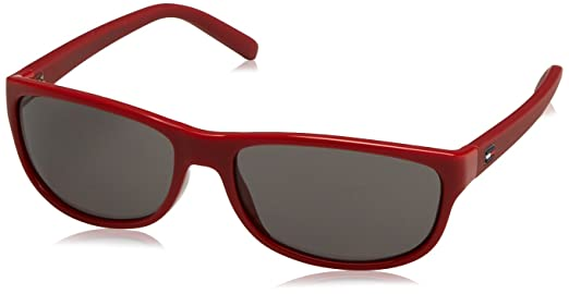 Tommy Hilfiger Unisex-Kinder TH 1222/S Y1 CZA 54 Sonnenbrille, Rot (Tranred Red/Grey)