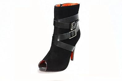 Gr38 Schwarz Schuhe 39 41 Sds Größe Stiefel Stiefeletten WE2YH9ID