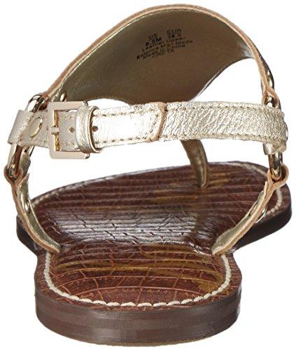 Sam Edelman Greta - Sandalias de Talón Abierto Mujer Jute Tumbled Opal Metallic Leather