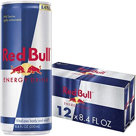 Energy & Sports Drinks: Red Bull