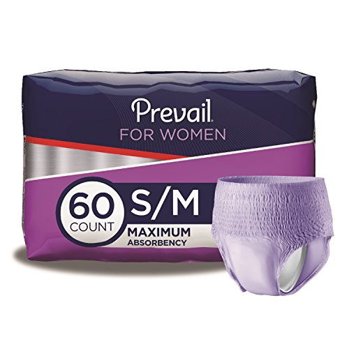 Prevail Maximum Absorbency Incontinence Underwear for Women, Small/Medium, 60 Count - Maximum Protective Underwear