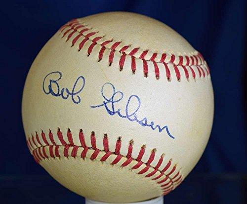 Autographed Bob Gibson Baseball - Bas Beckett Feeney National League - Beckett Authentication - Autographed Baseballs