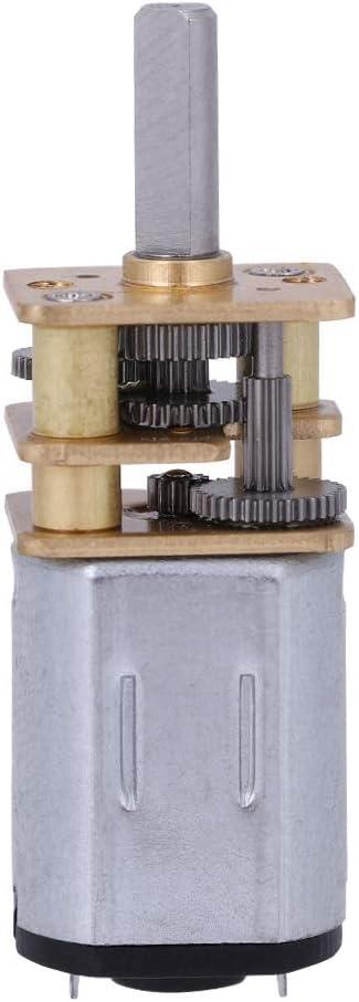 mod/èle de Robot serrure de porte /électronique Nouveau N20 DC3V 6V 12V 50-2000RPM vitesse de r/éduction moteur /à courant continu avec bo/îte de vitesses en m/étal pour moteur de bricolage