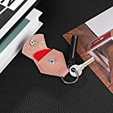 IKEPOD Genuine Leather Guitar Pick Holder with